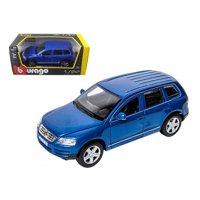 Bburago 22015bl Volkswagen Touareg Blue 1-24 Diecast Model Car