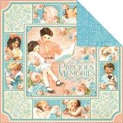 "Precious Memories Double-Sided Cardstock 12""X12""-Precious Memories"