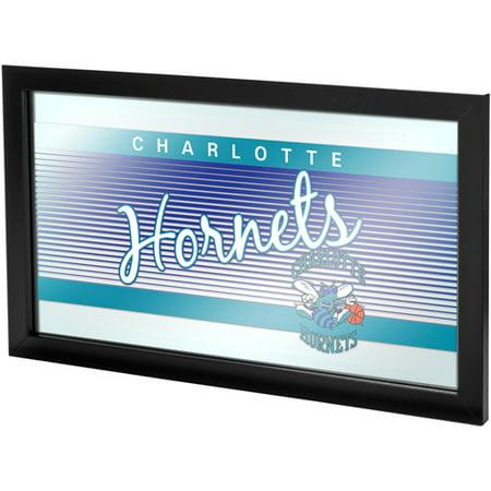 Charlotte Hornets Hardwood Classics NBA Framed Logo Mirror ()