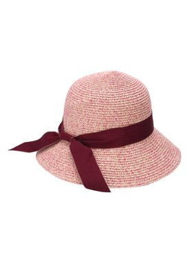 fa8444cd4a8 Product Image Women Cool Fashion Cap Floppy Wide Brimmed Summer Beach Bow  Straw Sun Hat Ribbon