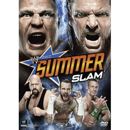 WWE: Summerslam 2012 (The Rock Vs Brock Lesnar Summerslam 2012)