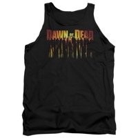 Dawn Of The Dead Science Fiction Zombie Movie Walking Dead Adult Tank Top Shirt