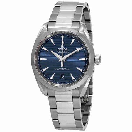 Omega Seamaster Aqua Terra Automatic Blue Dial Mens Watch 220 10 38 20 03 001