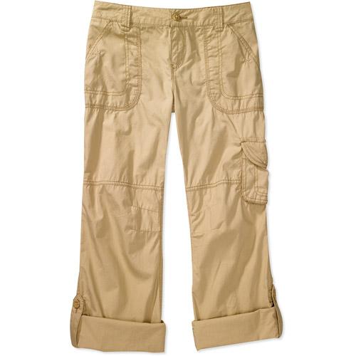 Op - Juniors' Convertible Roll-Up Cargo Pants - Walmart.com