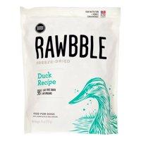 Bixbi Rawbble Grain-Free Duck Recipe Freeze Dried Dog Food, 26 Oz