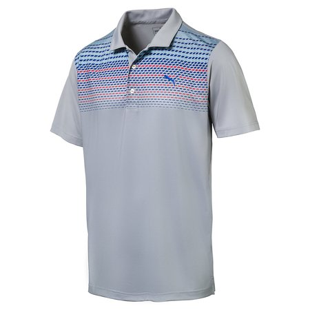 Puma Sportstyle Roadmap Polo Mens Golf Shirt Quarry 573279   New 2017
