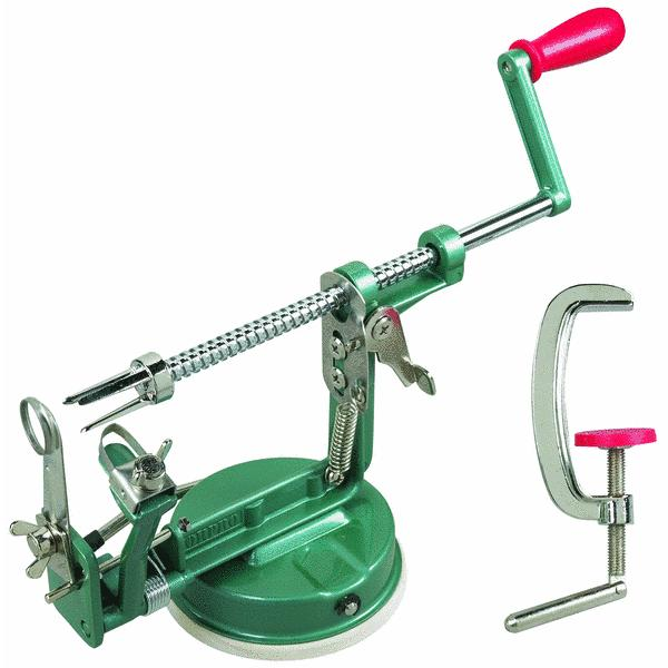 Norpro Apple Master Apple Parer & Slicer & Corer With Clamp