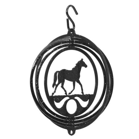 Mustang Quarter Panel Ornaments - SWEN Products HORSE QUARTER Tini Swirly Christmas Tree Ornament