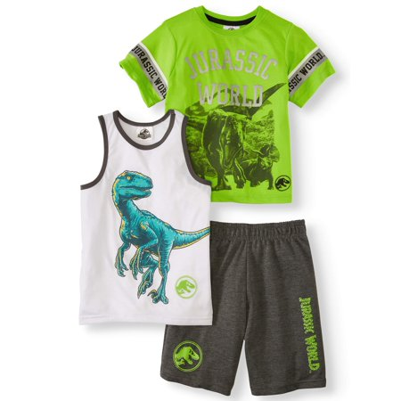 Jurassic World Athleisure, 3-Piece Set (Little Boys)