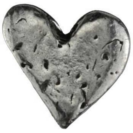 Party Games Accessories Halloween Séance Pewter Pocket Worry Stone Heart of - Marshmallow Halloween Game
