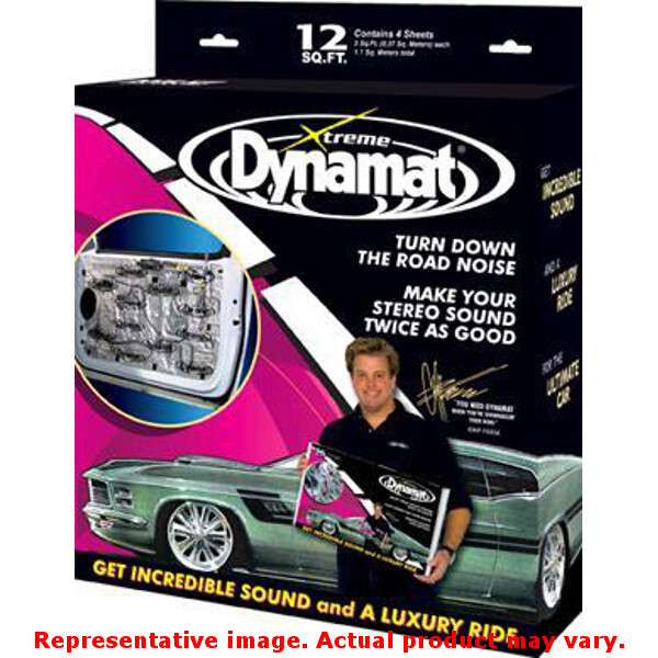 "Dynamat 10435 Dynamat Xtreme 12"" x 36"" Fits:UNIVERSAL 0 - 0 NON APPLICATION SPE"