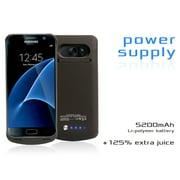 Samsung Galaxy S7 Battery Case, TechOrbits Premium Extended Battery Case for Samsung Galaxy S7 4200mAh Capacity with kick stand