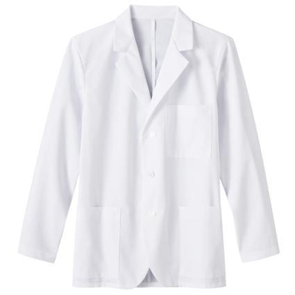 Mens 30 Inch Medical Consultation Coat