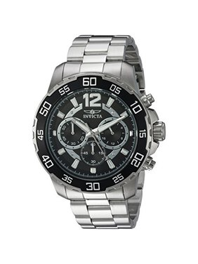 Invicta Men's 22712 Pro Diver Chronograph Stainless Steel Black Dial Stainless Steel Watch