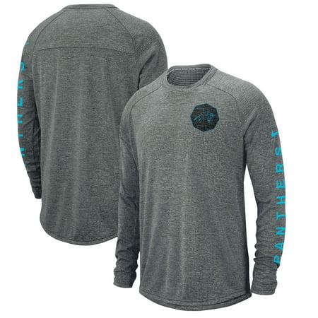 Carolina Panthers Nike Fan Gear Stadium Long Sleeve T-Shirt - Gray](Cheap Panthers Gear)