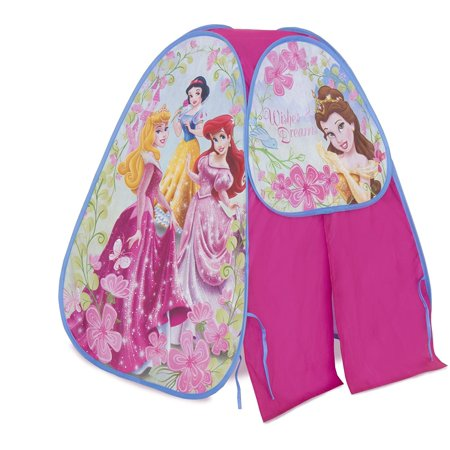 Disney Princess Camp N Play, Patented Twist ' N Fold Technology allows for instant set-up and easy storage By Playhut Ship from US