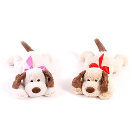 Valentines Day Dog with Ribbon - Valentine Dog