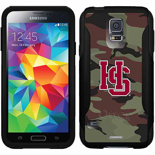 Hampden-Sydney HC Camo Design on OtterBox Commuter Series Case for Samsung Galaxy S5