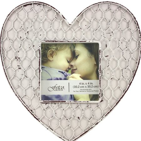 Fetco Home Decor Heart Shaped Picture Frame Walmartcom