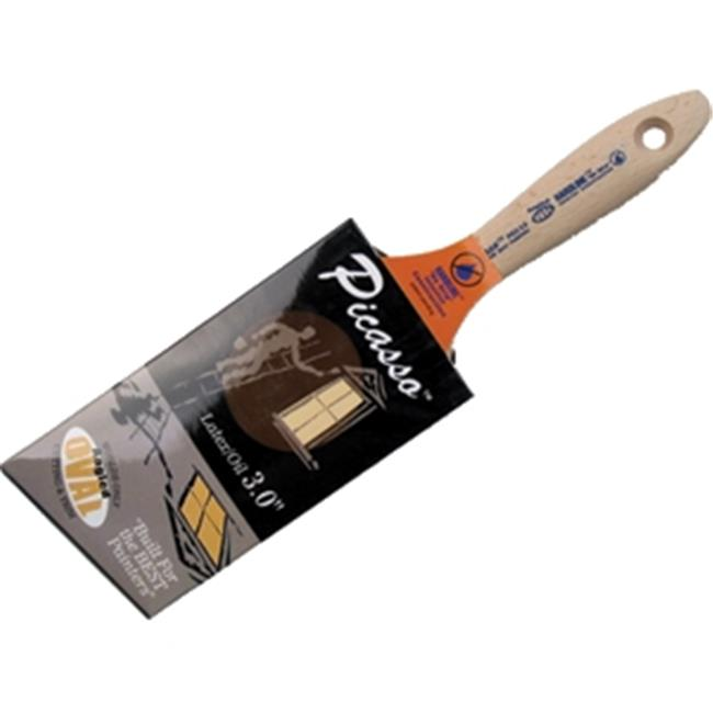Proform  Picasso  3 in W Soft  Angle  PBT  Paint Brush