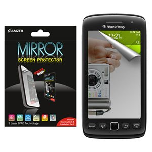 Premium Mirror Anti Scratch Screen Protector for BlackBerry Torch 9860, BlackBerry Torch 9850, Sprint BlackBerry Torch 9850 ()