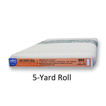 Wonder Under Fusible Web (Pellon Fusible Transfer Web 805P 5-Yard Roll17 wide By Wonder Under)