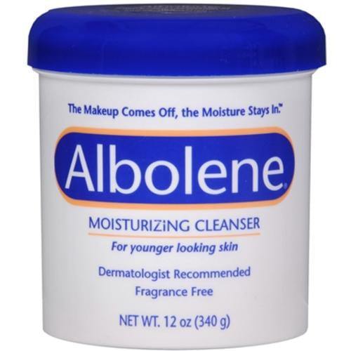 Albolene Moisturizing Cleanser Fragrance Free 12 oz (Pack of 6)