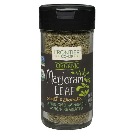 Frontier Natural Products Organic Marjoram Leaf Flakes  0 4 Oz