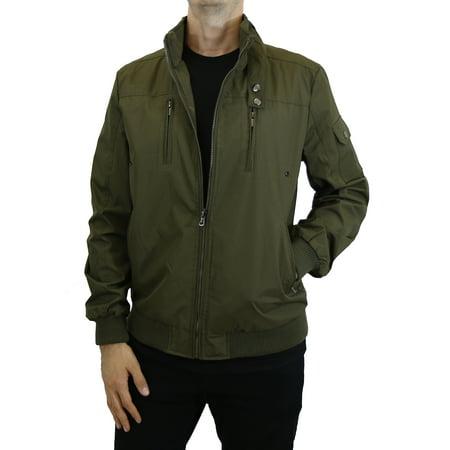 Mens Lightweight Flight Moto Bomber Jackets (45/p Flight Jacket)