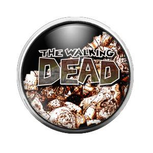 Walking Dead - 18MM Glass Dome Candy Snap Charm GD0311 - Candy Charm