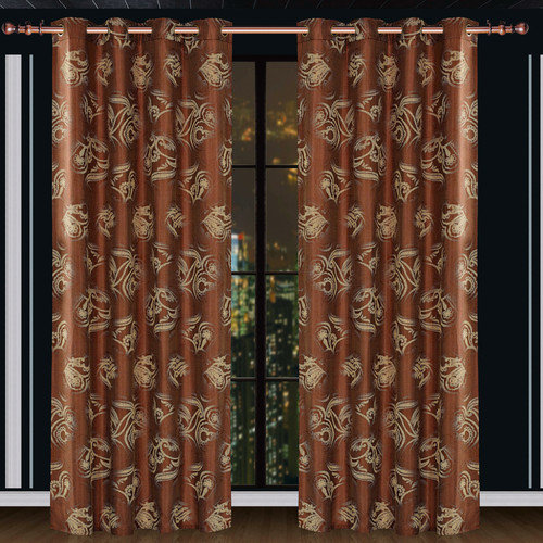 Dolce Mela Dolce Mela Ceres Cotton Grommet Drape Single Curtain Panel