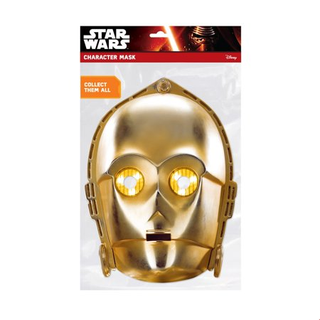 3po Costume (Star Wars C-3Po Facemask Halloween Costume)