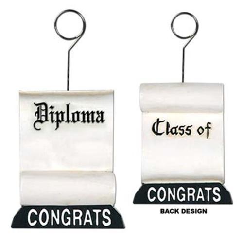 Graduation Diploma Photo/Balloon Holder - 6 Pack Case Pack 6