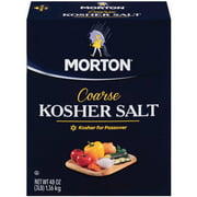 Morton Coarse Kosher Salt, 3 lb