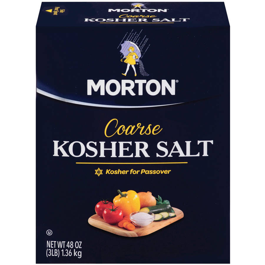 Morton: Salt Coarse Kosher, 3 Lb