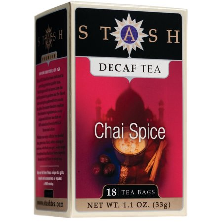 (3 Boxes) Stash Tea Decaf Chai Spice Tea, 18 Ct, 1.1 Oz