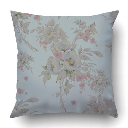 BPBOP Watercolor Bouquet Of Wildflowers V Beautiful Exquisite Sketches Pencil Pillowcase Cover Cushion 18x18 inch Ribbed Pencil Cushions