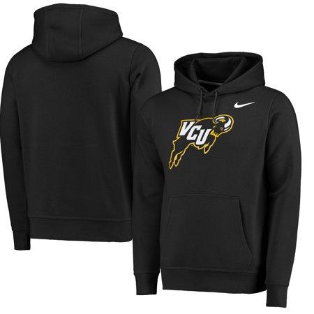 VCU Rams Nike Big Logo Fleece Hoodie - Black