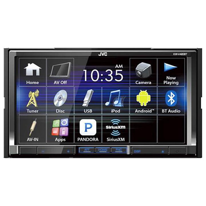 "Jvc Kw-v420bt Car Dvd Player 7"" Touchscreen Lcd 88 W Rms Double Din 4 Channels Dvd+rw, Dvd-rw, Cd-rw Dvd... by JVC"