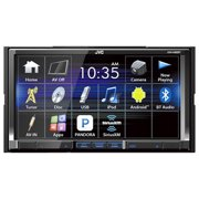 "JVCM KW-V420BT 7"" Double-DIN In-Dash DVD Receiver with Bluetooth and SiriusXM Ready"