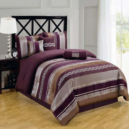 Clearance 7 piece comforter sets claudia queen size - Queen size bedroom sets clearance ...
