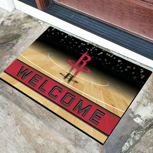Houston Rockets Crumb Rubber Door Mat
