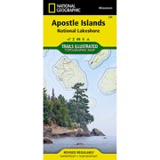 Apostle Islands #, Wisconsin, Publisher National Geographic by National Geographic