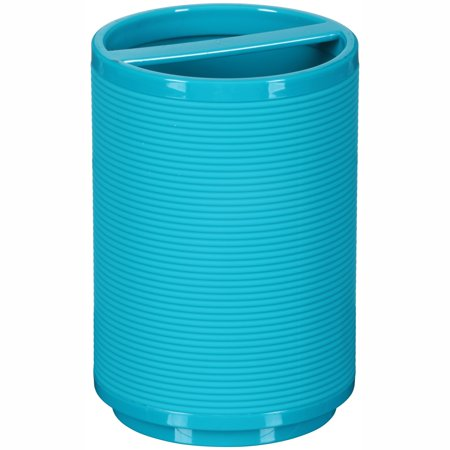 Mainstays Soft Touch Teal Toothbrush Holder, 1 Each