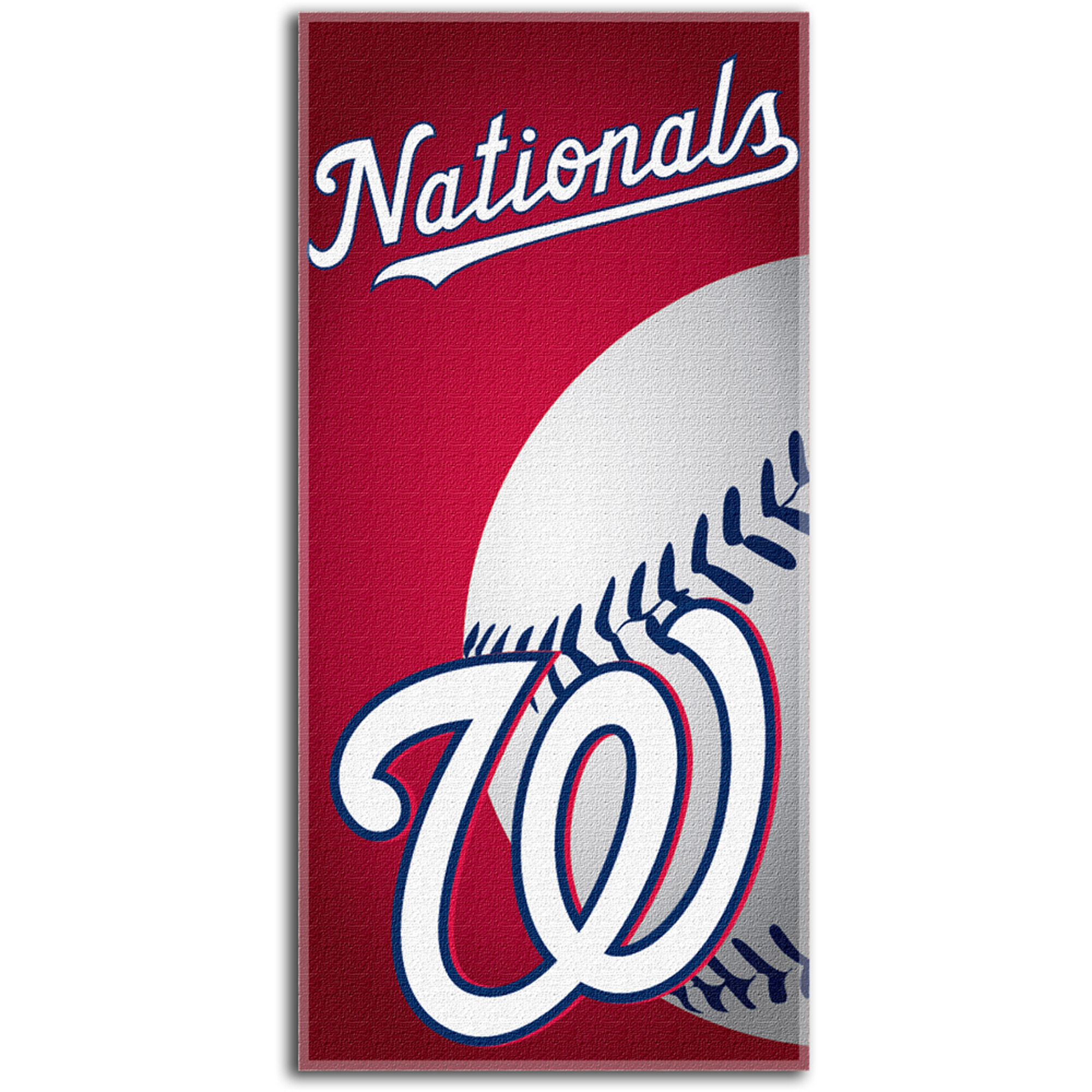 MLB Beach Towel Emblem Series, Washington Nationals