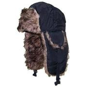 Best Winter Hats Toddler Soft Nylon Russian/Aviator Winter Hat (One Size) - Black
