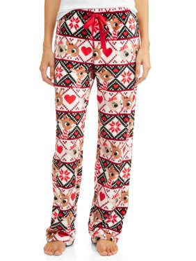 Product Image Rudolph Women s and Women s Plus Super Mink Sleep pant 899440745