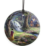 Trend Setters Thomas Kinkade (Snow White Discovers the Cottage) StarFire Prints Wall D cor