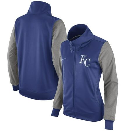 - Kansas City Royals Nike Women's Full-Zip Jacket - Royal