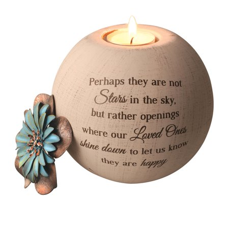 Pavilion Gift Company- Round Tealight Candle Holder, 5 Inch ()